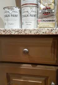 Kitchen Makeover Chalk Painting Kitchen Cabinets Hometalk - Painting kitchen cabinets with black chalk paint