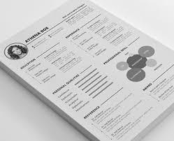 10 free creative resume templates for designers uibrush