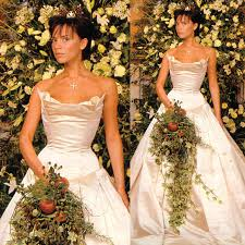 beckham wedding dress iconic wedding dresses through the years embrace bridal boutique