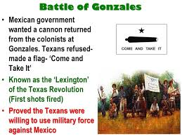 Gonzales Flag Texas Revolution Ppt Download