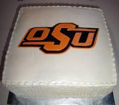 smith groom s cake oklahoma state logo chocolate with