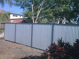 Cheap Fences For Backyard Corrugated Metal Fence Ideas Fencing Ideas Pinterest
