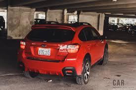 subaru trek red review 2017 subaru crosstrek kazan edition canadian auto review