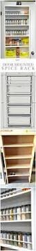 kitchen organization ideas pinterest cabinet kitchen spice shelf best spice racks ideas on pinterest