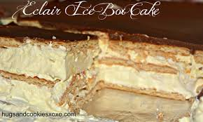 eclair ice box cake hugs and cookies xoxo