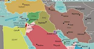 middle east map medina middle east political map free printable maps