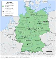 World Map Germany by Smartraveller Gov Au Germany