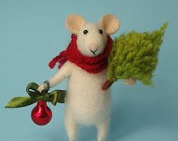 christmas mouse etsy