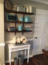 40 diy rustic open shelving country chic vintage home decor