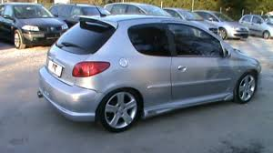 buy a peugeot 2003 peugeot 206 tuned body kit review start up engine and in