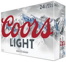 Coors Light 24 Pack Coors Light 906586 Manitoba Liquor Mart