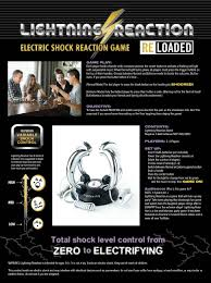 amazon com lightning reaction reloaded shocking game toys u0026 games