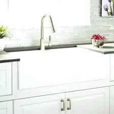 33 inch farmhouse kitchen sink 33 inch farmhouse sink white white farmhouse sink cast iron