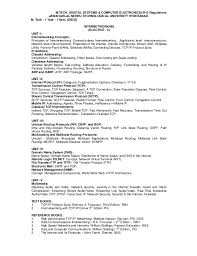 Bartender Job Description For Resume by Digital Systems Computer Electronics