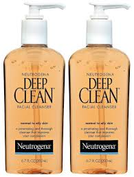 amazon com neutrogena deep clean cleanser normal to oily