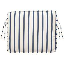 20 X 20 Outdoor Chair Cushions Home Decorators Collection Lido Indigo Sunbrella 20 In X 17 5 In