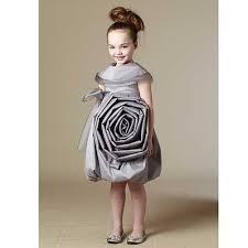 kidcuteture silver sonya shantang organza designer dress girls 5