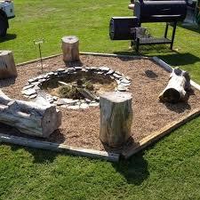 How Much To Level A Backyard Best 25 Backyard Fire Pits Ideas On Pinterest Fire Pits