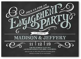 engagement party invites sophisticated engagement party invitation shutterfly