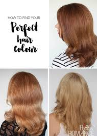 easy perfect hair colour hair romance