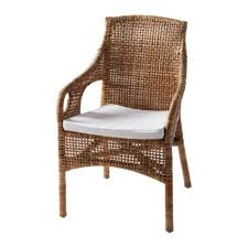 Woven Chairs Dining Majby Chair With Armrests Rattan White 79 99 Richardson