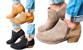 s qupid boots qupid 3 colors laser cut perforated ankle boots bootie sochi 104x