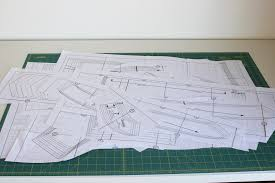 shirt pattern cutting pdf how to assemble pdf patterns quickly efficiently sewaholic