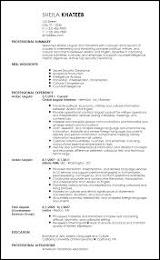 free contemporary translator resume templates resumenow