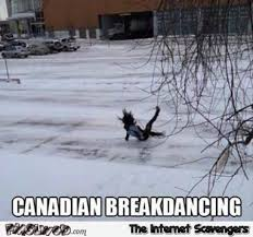 Canada Snow Meme - canadian break dancing meme pmslweb