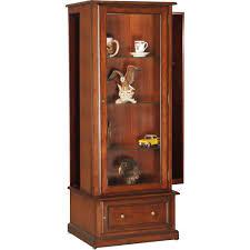 curio cabinet coaster home furnishingso cabinet black kitchen