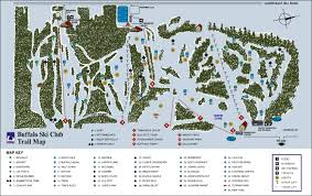 Map Buffalo Trail Map Buffalo Ski Club