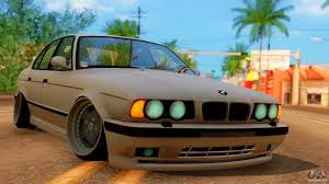 stanced bmw m5 bmw m5 e34 stance for gta san andreas