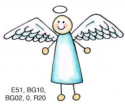 easy angel drawings how to draw easy angels for kids clipart best