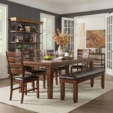 Leather Tufted Chairs Small Dining Room And Kitchen Wooden Freestanding Cupboard Rounded