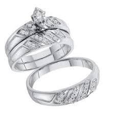 Wedding Ring Trio Sets by Bridal Sets Marquise Sears