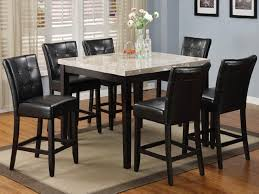 kitchen table unusual high top table set counter dining table