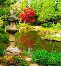 Michigan Botanical Gardens American Japanese Garden Association Creation And