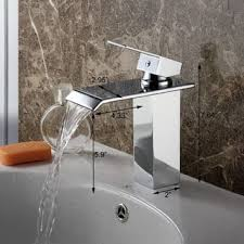 Waterfall Bath Faucets Waterfall Bathroom Faucets Shop The Best Deals For Nov 2017