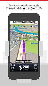 mirror link android sygic car navigation android apps on play