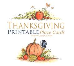thanksgiving printable place cards monday littles jacie