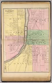State Of Michigan Plat Maps by City Of Grand Rapids Kent County David Rumsey Historical Map