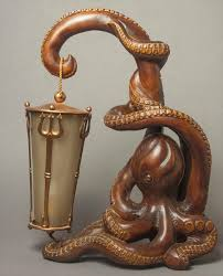 igavel auctions aldo tura octopus lamp w1fmm