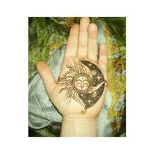 sun moon found on polyvore tattoos moon