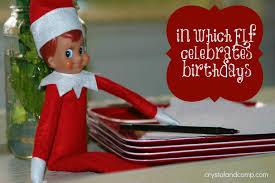 elf on the shelf in which elf celebrates birthdays
