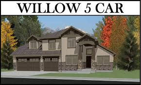 willow 5 car 4 bed 2327 2 story u2013 utah home design