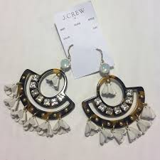 Marvellous J Crew Chandelier Earrings Tortoise Chandelier Earrings Jcrew Fallcreekonline Org
