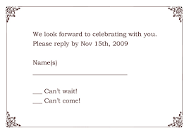 free rsvp card templates expin franklinfire co