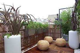 designs ideas modern balcony with striped rug and black chairs