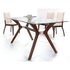 furniture unique modern glass dining table ideas glass dining