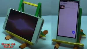 Things To Make At Home by How To Make Mobile Stand Or Holder At Home How To Make A Tablet